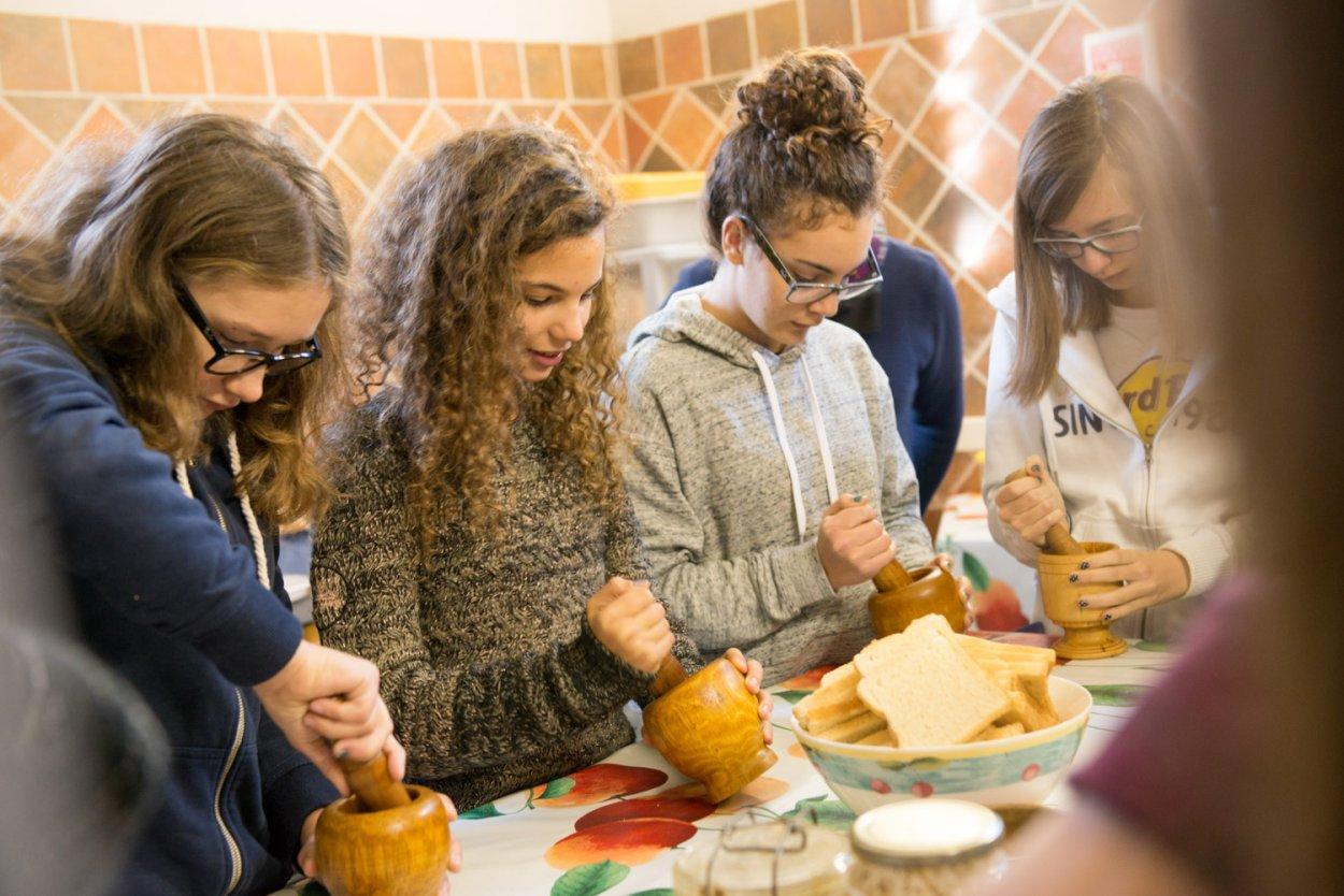 Atelier enfant cuisine romaine
