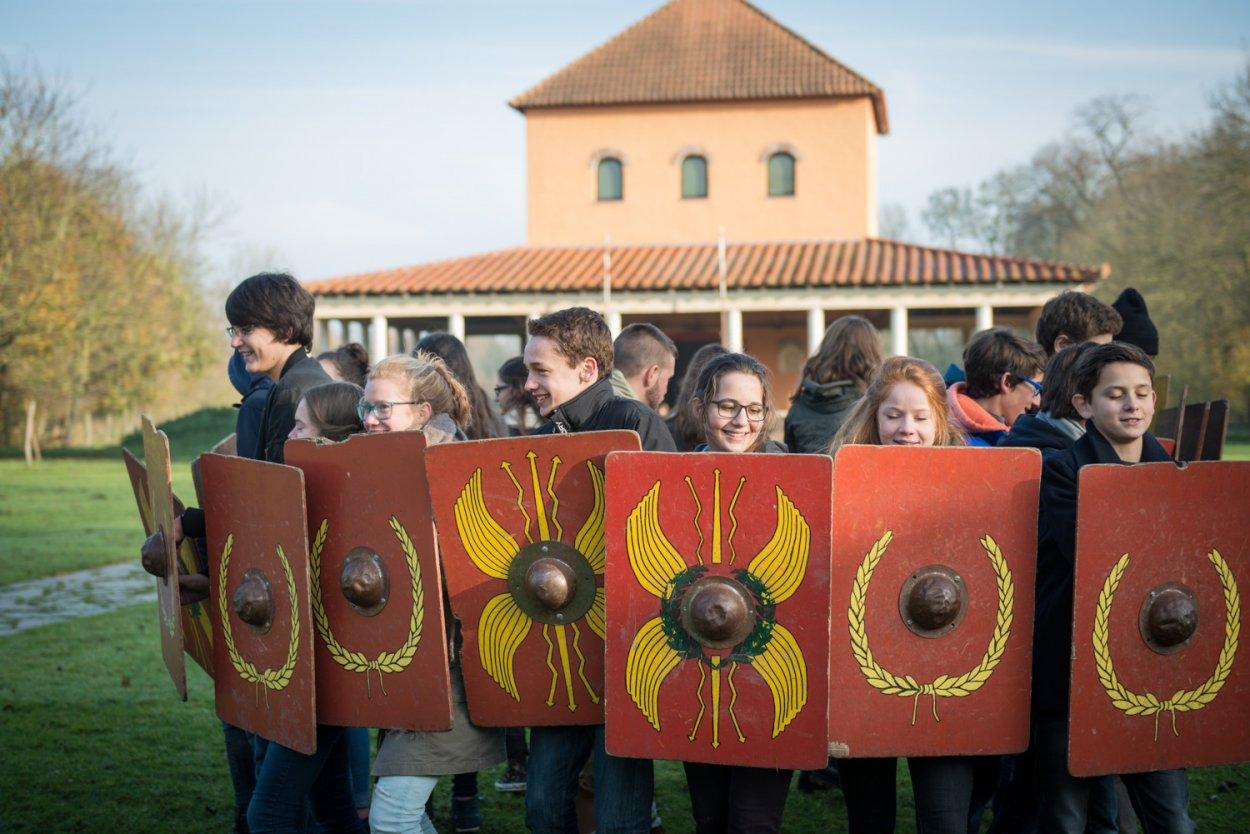 Atelier scolaire légion romaine