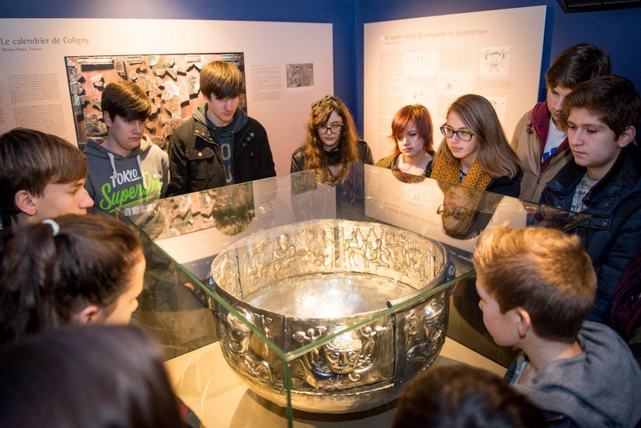 visite scolaire croyances antiques