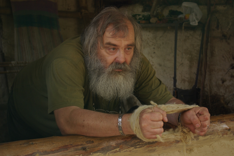 Démonstration artisan tissage