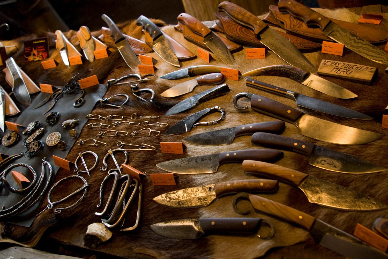 Reproduction couteau celtique