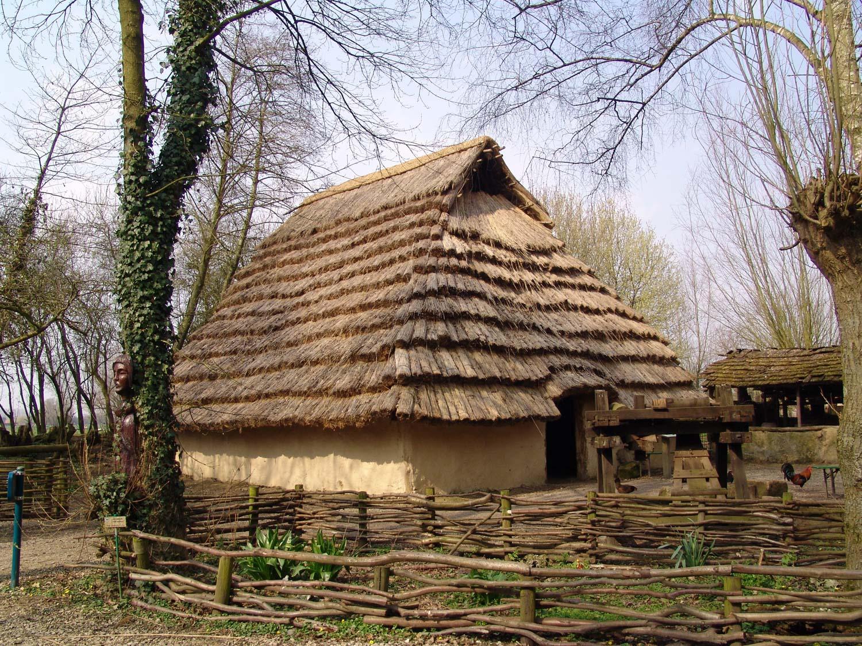 Extérieur maison gauloise