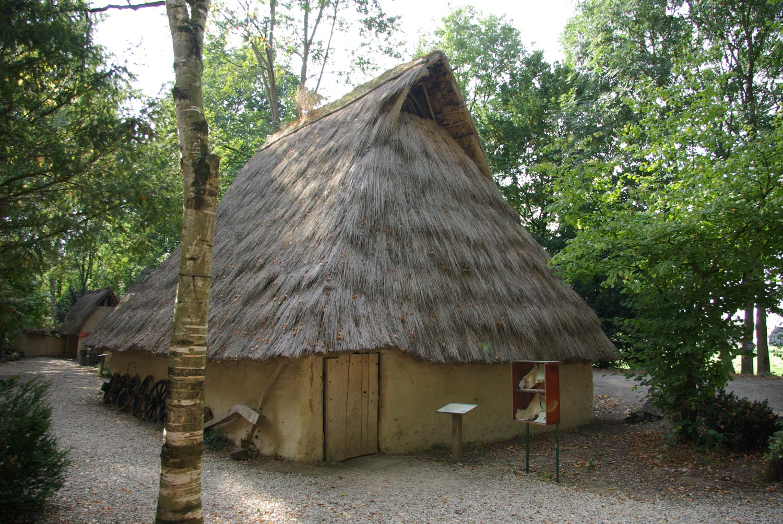 Extérieur maison celtique