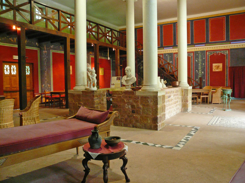 Villa Gallo-Romaine Intérieur