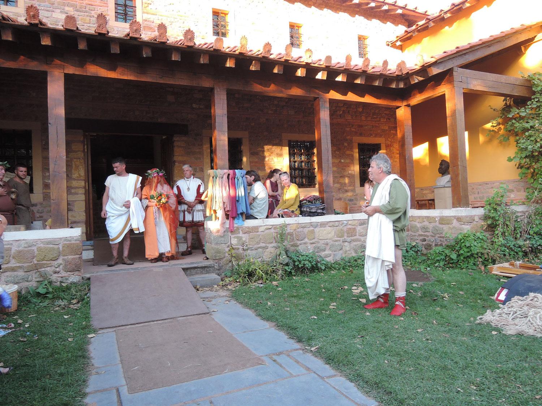 mariage romain weekend expériementale