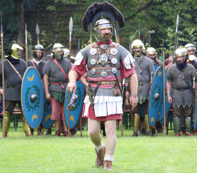 centurion christophe week end archéologie expérimentale Aubechies
