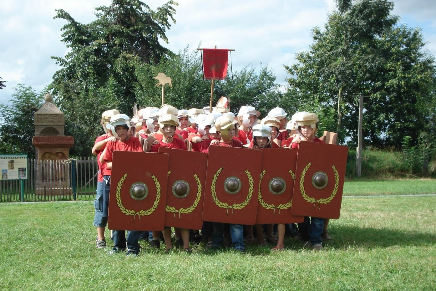 Stage légionnaire enfant histoire