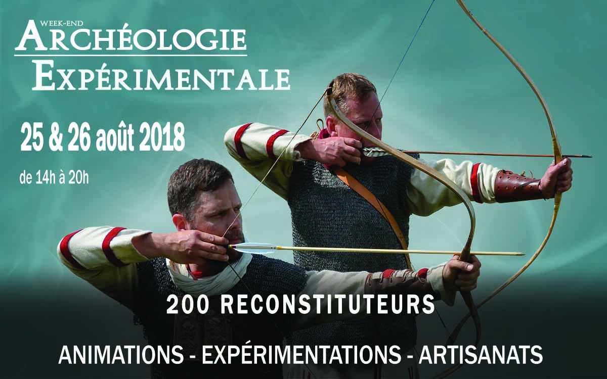 WEEKEND D'ARCHEOLOGIE EXPERIMENTALE