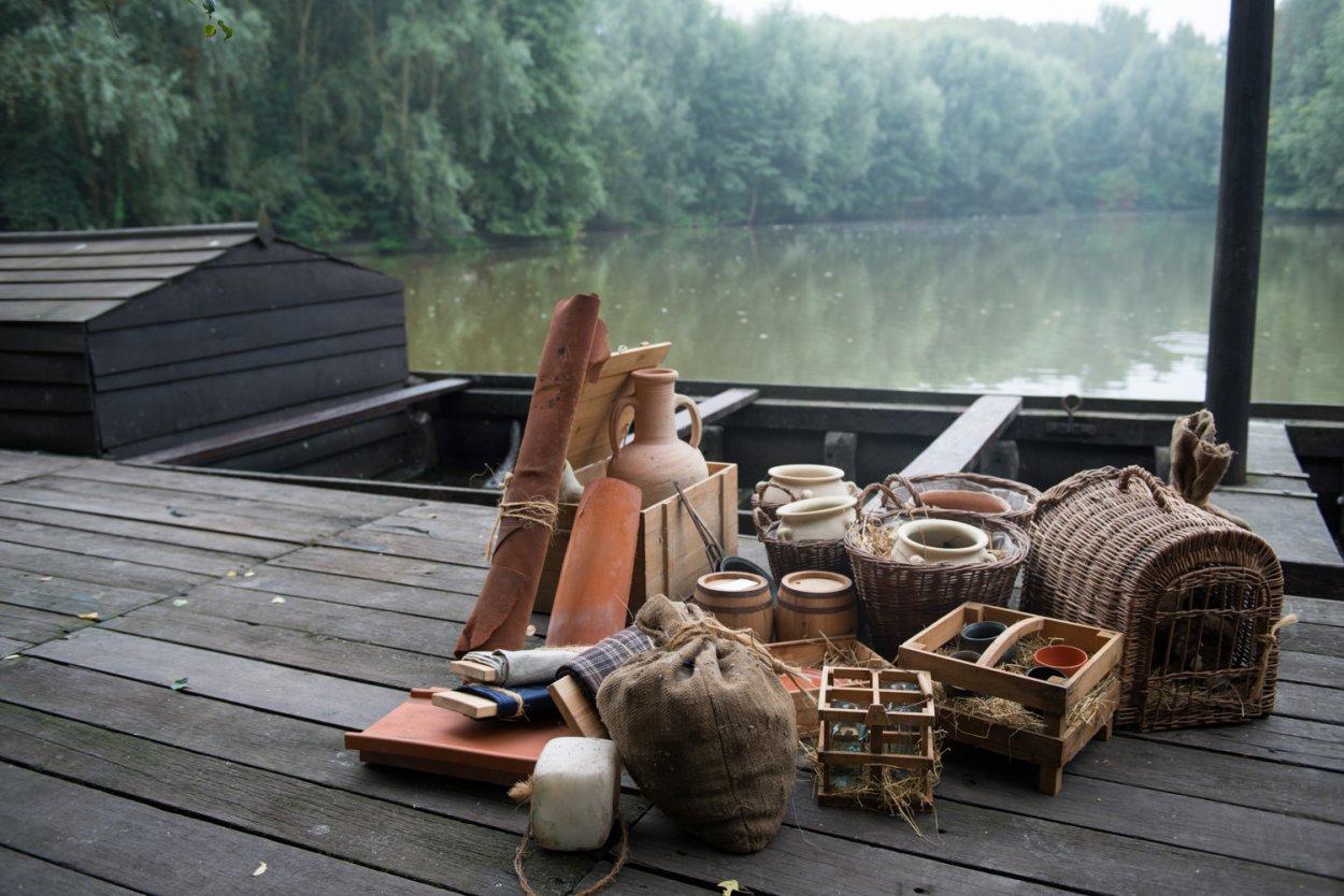 Reconstitution bateau gaulois