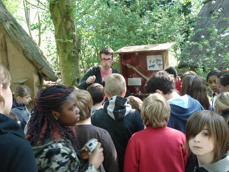 Visite guidée outils Néolithique