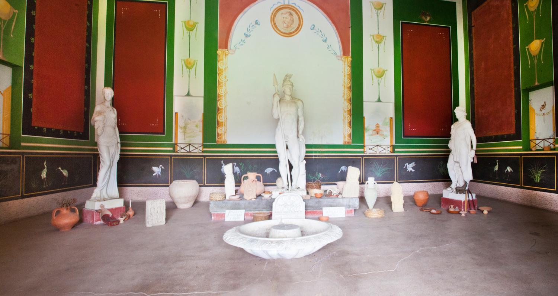 Intérieur Temple Gallo-Romain
