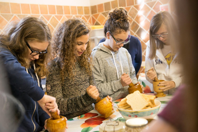 Lessines, 20141017, Atelier cuisine romaine - archéosites Aubechies. photo Coralie Cardon